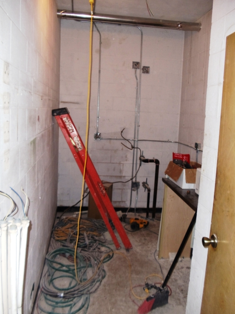 Mechanical Systems This Old Fiji House Wiring To New The Ice Room Will A Residential Refrigerator Microwave And Machine Late Plates Extra Food Be Stored In For Guys